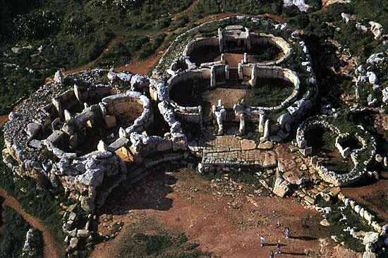 the gigantica temples